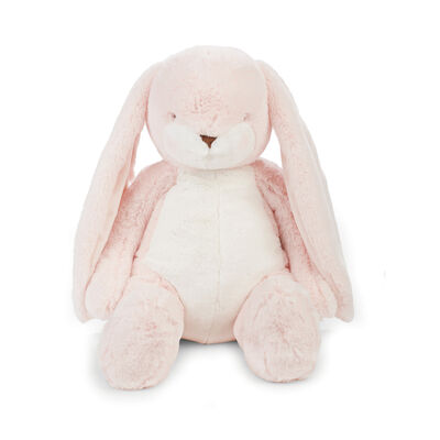 "Bunnies by the Bay Big Nibble 20"" Plush Bunny - Pink, , default"