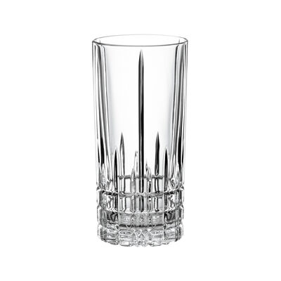"""Perfect"" Set of 4 Long Drinking Glasses"