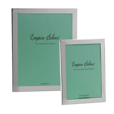 Empire Sterling Silver Picture Frame, , default