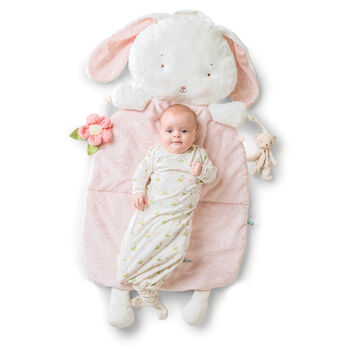 "Bunnies by the Bay ""Blossom Bunny"" Baby 3-In-1 Pillow Play Mat, , default"