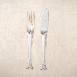 "Yamazaki ""Gone Fishin'"" Stainless Steel Flatware, , default"