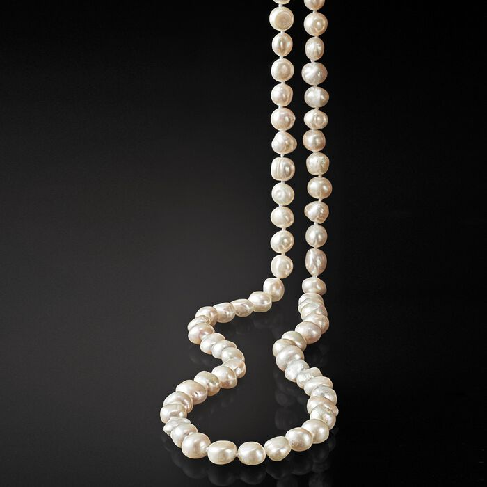 10-11mm Cultured Pearl Long Endless Necklace
