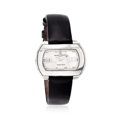 C. 1990 Vintage Baume & Mercier 34mm Watch in Stainless Steel, , default