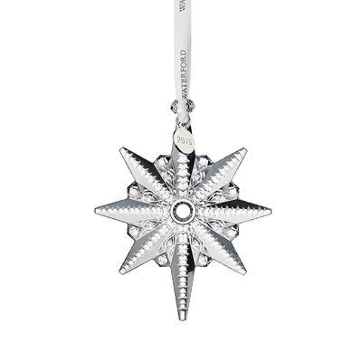 "Waterford Crystal ""Snowstar"" Snowflake Ornament, , default"