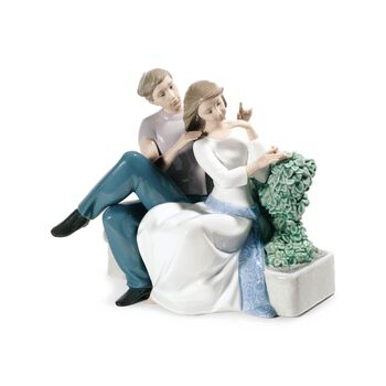 "Nao ""The Perfect Couple"" Porcelain Figurine , , default"