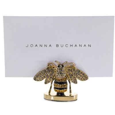Joanna Buchanan Set of 2 Stripey Bee Place Card Holders, , default