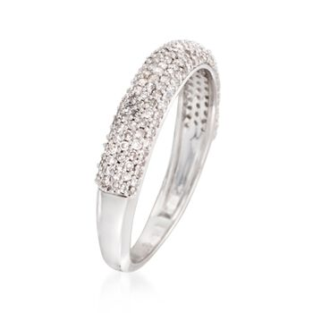 .50 ct. t.w. Pave Diamond Ring in Sterling Silver, , default