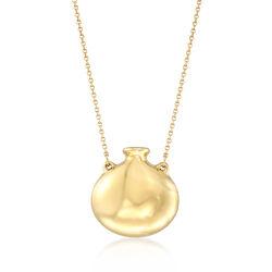 C. 1990 Vintage Tiffany Jewelry Open Bottle Necklace, , default