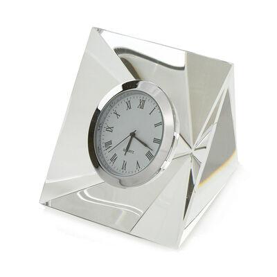 Crystal Glass Clock