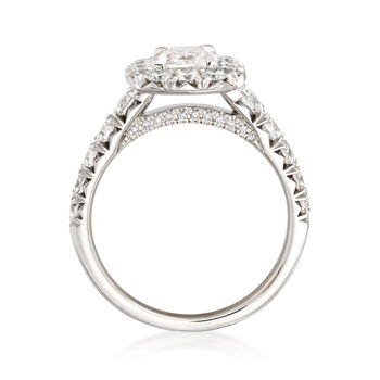 Henri Daussi 1.87 ct. t.w. Diamond Engagement Ring in 18kt White Gold, , default