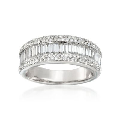 1.16 ct. t.w. Diamond Ring in 14kt White Gold, , default