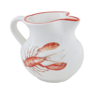 Abbiamo Tutto Italian Lobster Ceramic Pitcher