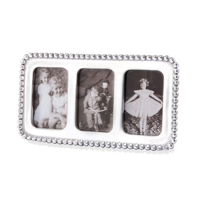 """Mariposa """"String of Pearls"""" 2x3 Beaded Collage Photo Frame, , default"""