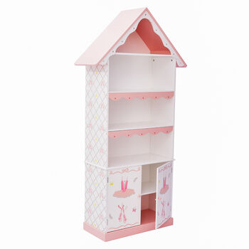 Child's Swan Lake Wooden Bookshelf, , default