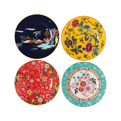 "Wedgwood ""Wonderlust"" Set of 4 Plates, , default"