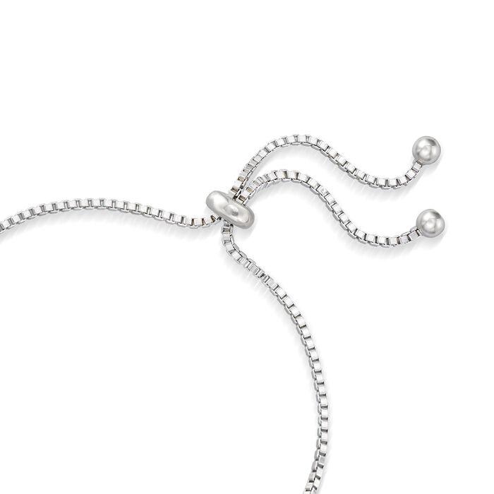 7.80 ct. t.w. Multi-Stone Bolo Bracelet in Sterling Silver