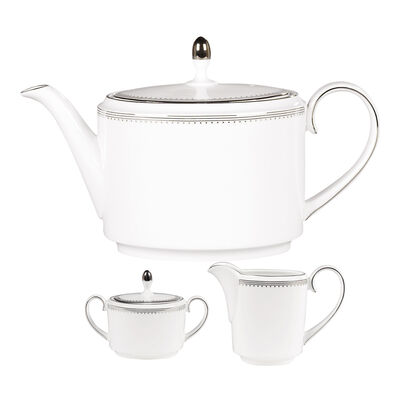 "Vera Wang for Wedgwood ""Grosgrain"" Tea Service"