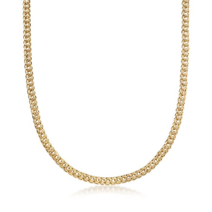 18kt Yellow Gold Multi-Link Necklace, , default