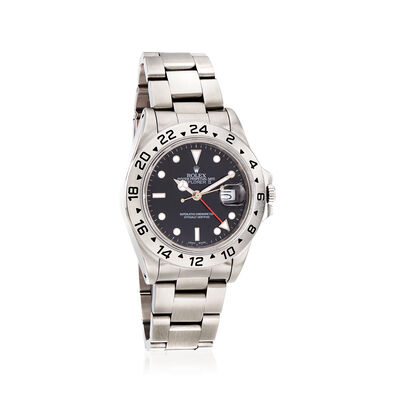 Pre-Owned Rolex Explorer II Men's 40mm Automatic Watch in Stainless Steel, , default
