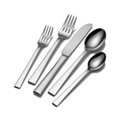 "Mikasa ""York"" 65-pc. Service for 12 Flatware Set"
