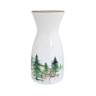 """Abbiamo Tutto Italian """"Woodlands"""" Ceramic Carafe/Vase, , default"""