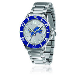 Men's 46mm NFL Detroit Lions Stainless Steel Key Watch, , default