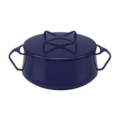 "Dansk ""Kobenstyle"" Midnight Blue Small Casserole Pot with Lid, , default"