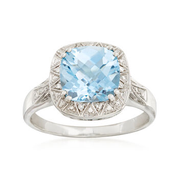3.50 ct. t.w. Blue Topaz Ring in Sterling Silver, , default
