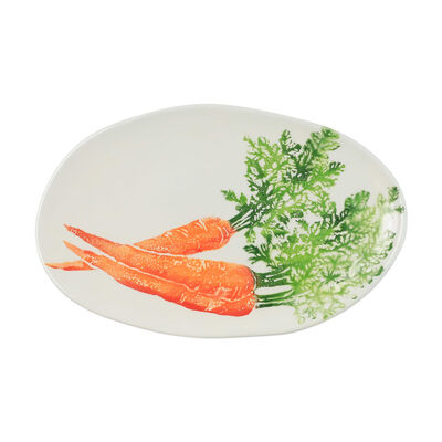 "Vietri ""Spring Vegetables"" Platter from Italy"