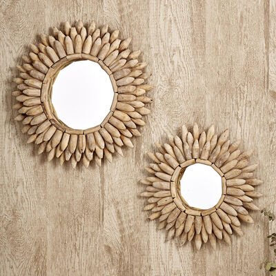 Driftwood Set of 2 Mirrors