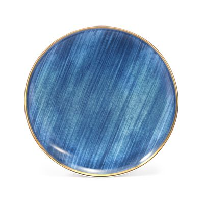 "Lenox and Luca Andrisani ""Blue Azzurro"" Porcelain Accent Plate, , default"