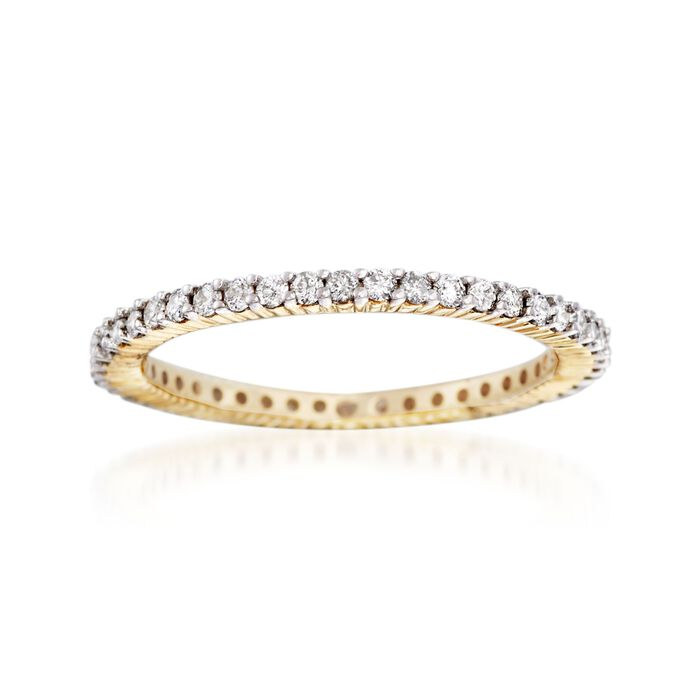 .50 ct. t.w. Diamond Eternity Band in 14kt Yellow Gold, , default