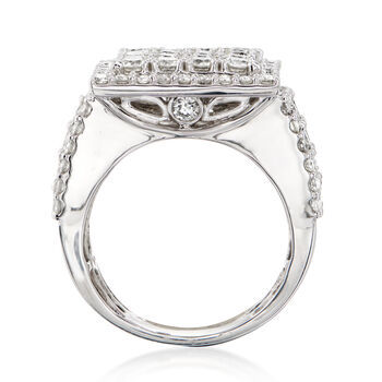 4.00 ct. t.w. Diamond Ring in 14kt White Gold