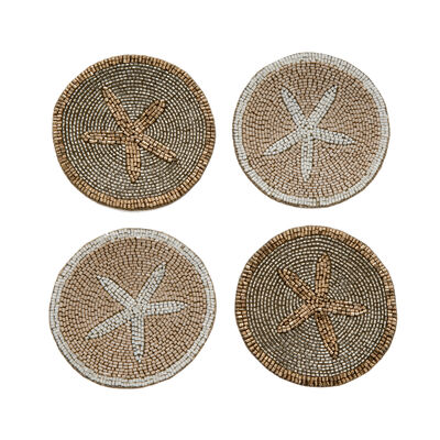Joanna Buchanan Set of 4 Starfish Coasters, , default