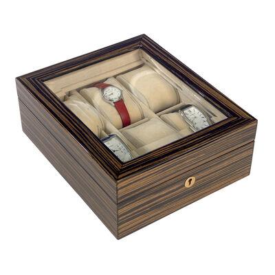 Ebony Wood Watch Box