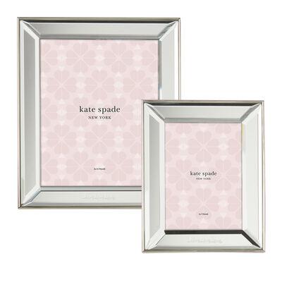 "Kate Spade New York ""Key Court"" 18/10 Stainless Steel Love Frame"