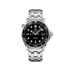 Omega Seamaster Diver Men's 41mm Stainless Steel Watch With Black Dial , , default