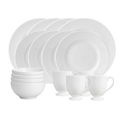 """Wedgwood """"White"""" 16-pc. Dinnerware Set"""
