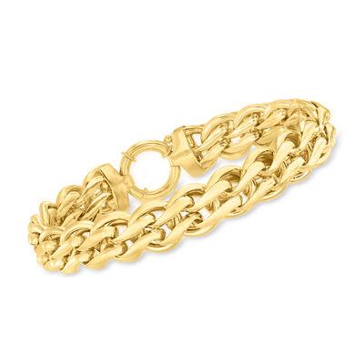 14kt Yellow Gold Oval-Link Bracelet