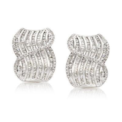 2.00 ct. t.w. Diamond Swirl Drop Earrings, , default