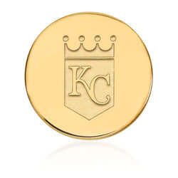 14kt Yellow Gold MLB Kansas City Royals Lapel Pin, , default