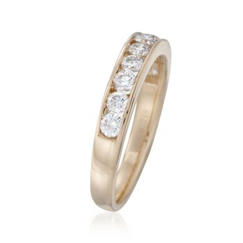 1.00 ct. t.w. Diamond Ring in 14kt Yellow Gold, , default