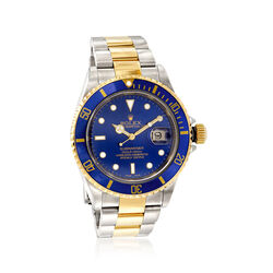 Certified Pre-Owned Rolex Submariner Men's 40mm Automatic Watch in Two-Tone , , default