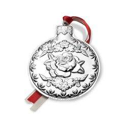 "Kirk Stieff 2017 Annual ""Repousse"" Sterling Silver Ornament - 9th Edition, , default"