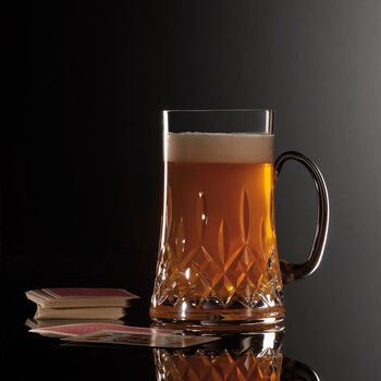 "Waterford Crystal ""Connoisseur"" Lismore Beer Mug"