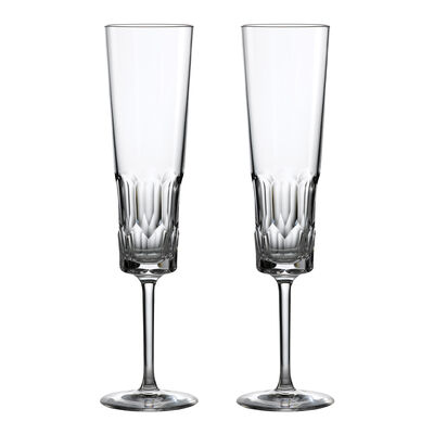 "Waterford Crystal ""Icon"" Set of 2 Flute Glasses, , default"