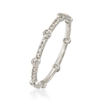 .16 ct. t.w. Diamond Eternity Band in 14kt White Gold