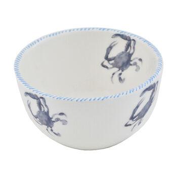 Abbiamo Tutto Italian Blue Crab Ceramic Dinnerware, , default