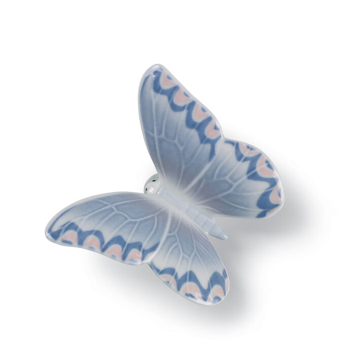 "Nao ""Gentle Lavender Butterfly"" Porcelain Figurine , , default"