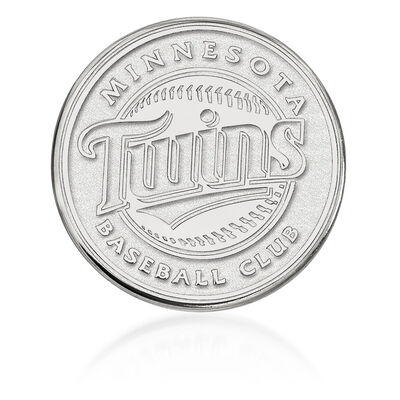 Sterling Silver MLB Minnesota Twins Lapel Pin, , default